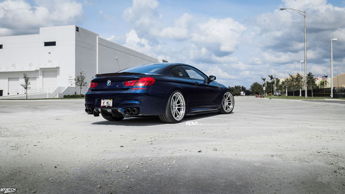 @M6Jay BMW M6 with ADV5.2 Track Spec CS Wheels and Vorstiener Aerodynamics