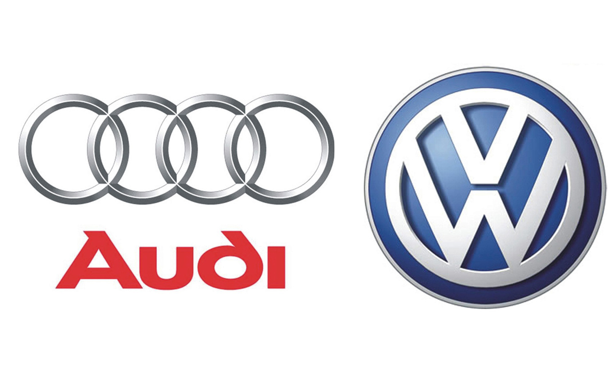 Audi and Volkswagen