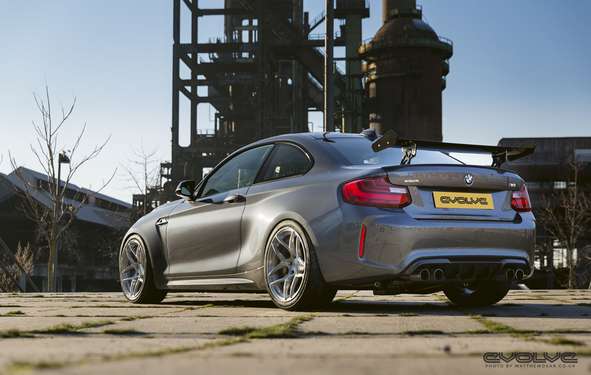 Evolve Automotive Carbonfiber Dynamics BMW M2 GTS