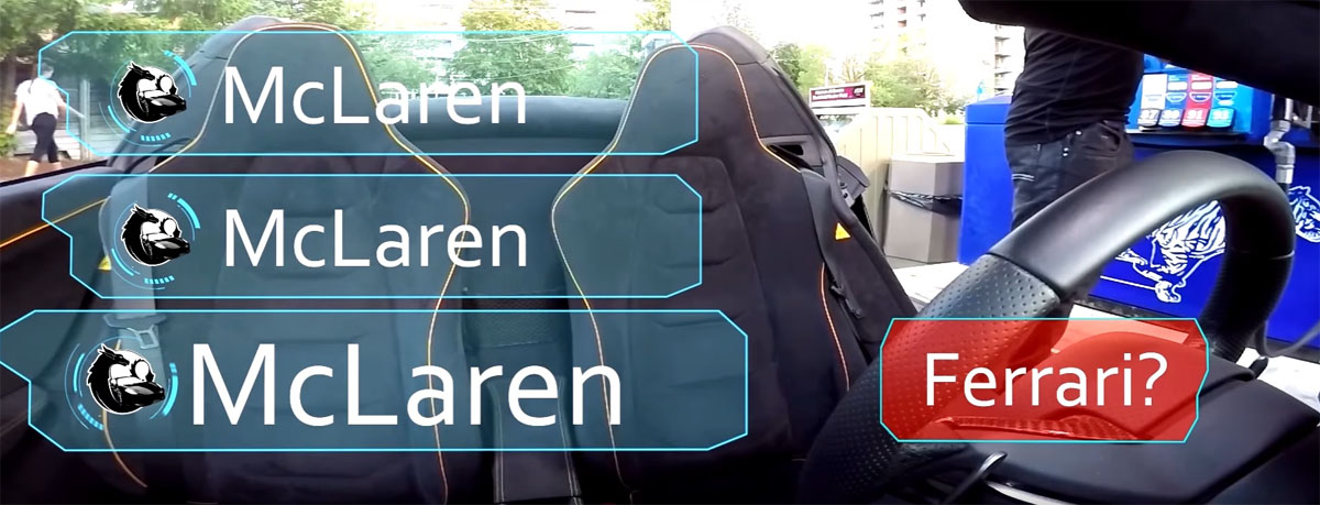 McLaren 650S Spider Name Reaction