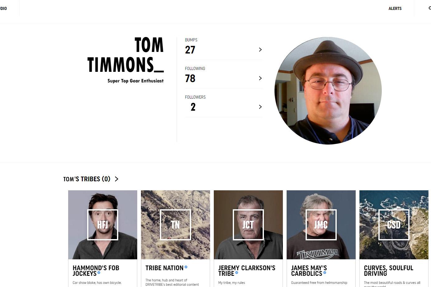 Toms DriveTribe Exposed Motoring