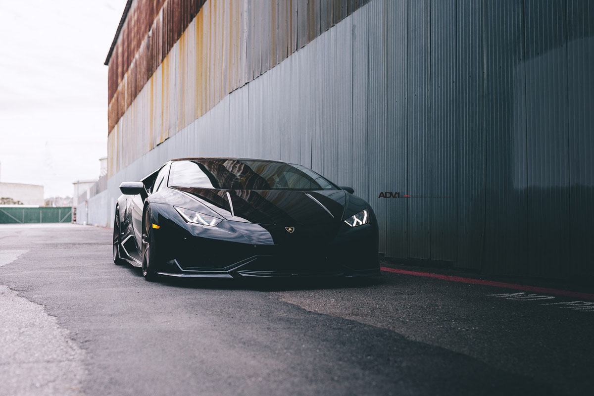 featured fitment lamborghini huracan with adv05 wheels. Black Bedroom Furniture Sets. Home Design Ideas
