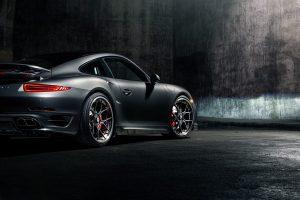 Porsche 911 Turbo S with Brixton Forged CM5 Targa Series Wheels