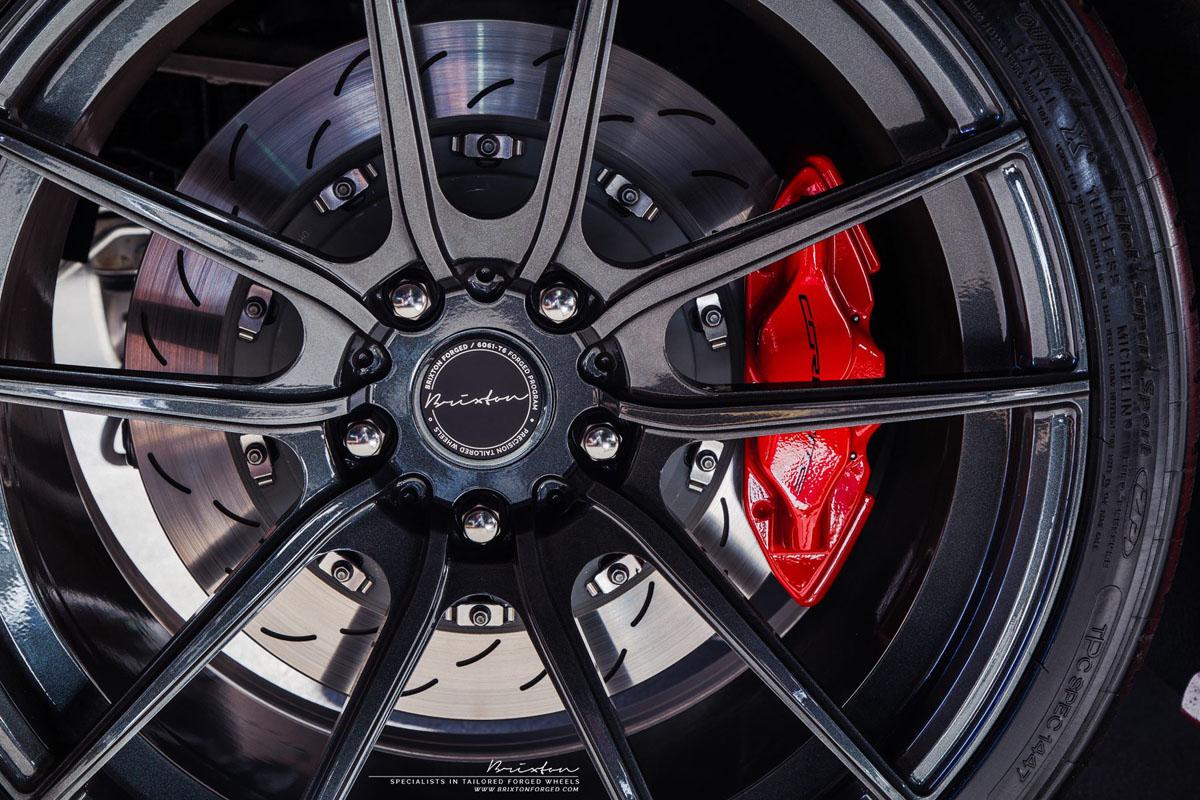 Chevrolet Corvette Z06 Converitble with Brixton Forged M53 Ultrasport+ Wheels
