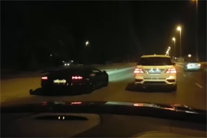 PP-Performance Mercedes-Benz ML63 AMG vs Lamborghini Aventador