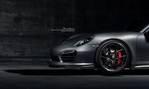 911 Turbo S Brixton Forged CM5 Wheels