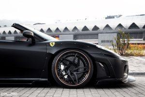 Liberty Walk Ferrari F430 Spider with PUR LX22.V3 Wheels by ReinArt Design