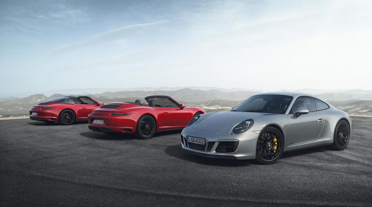 Porsche 911 GTS model range