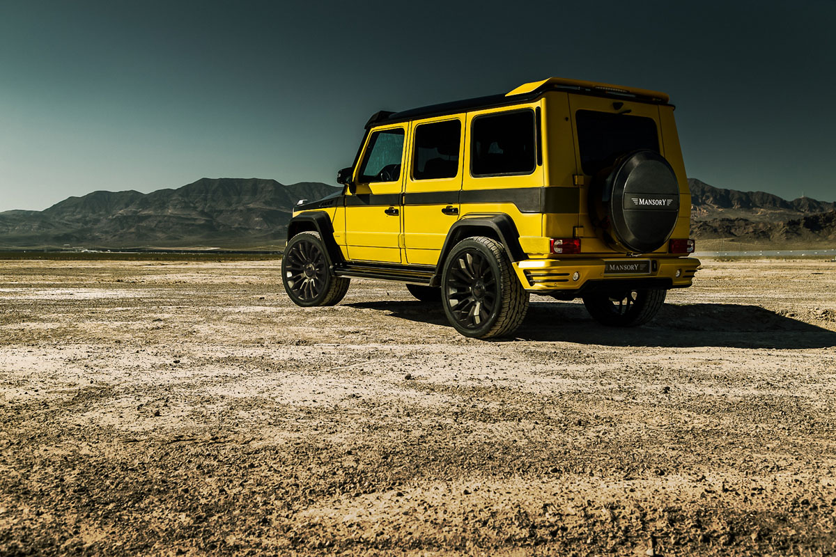 Mansory Widebody Mercedes-Benz G-Class