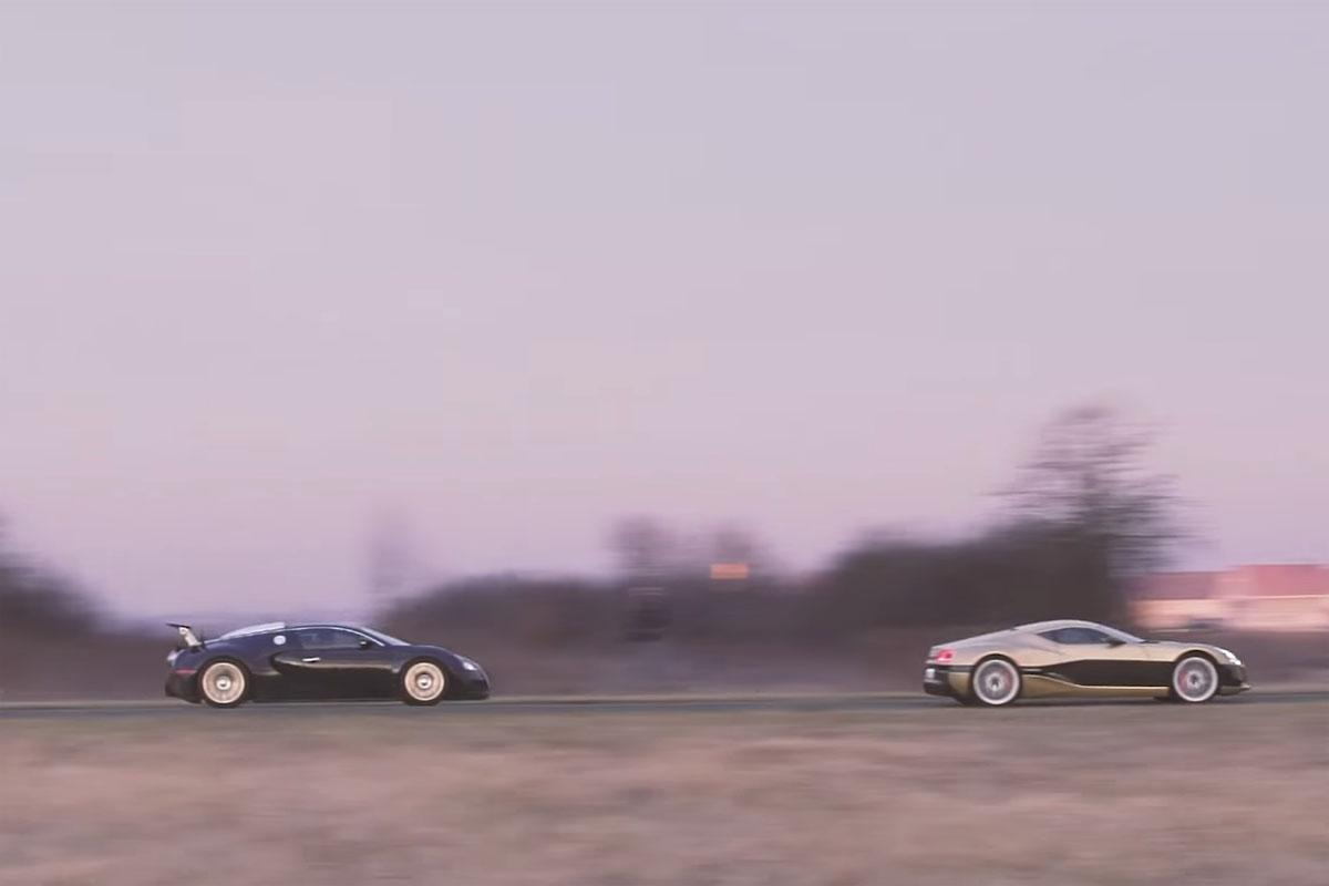 Rimac Concept_One vs Bugatti Veyron