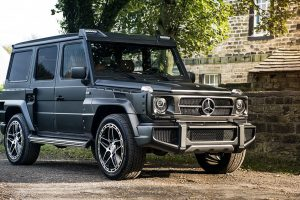 The Mercedes-Benz G350 AMG G6 Wide Body Edition