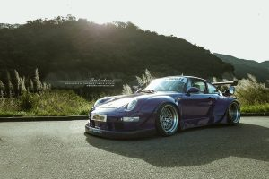 RWB Porsche 993 911 with Brixton Forged HS1 Circuit+ Wheels by ReinART Design