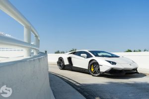 Lamborghini Aventador LP720-4 50th Anniversario with ADV.1 PML 101 Track Spec CS Series Wheels