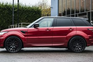 Project Kahn Range Rover Sport Dynamic Pace Car