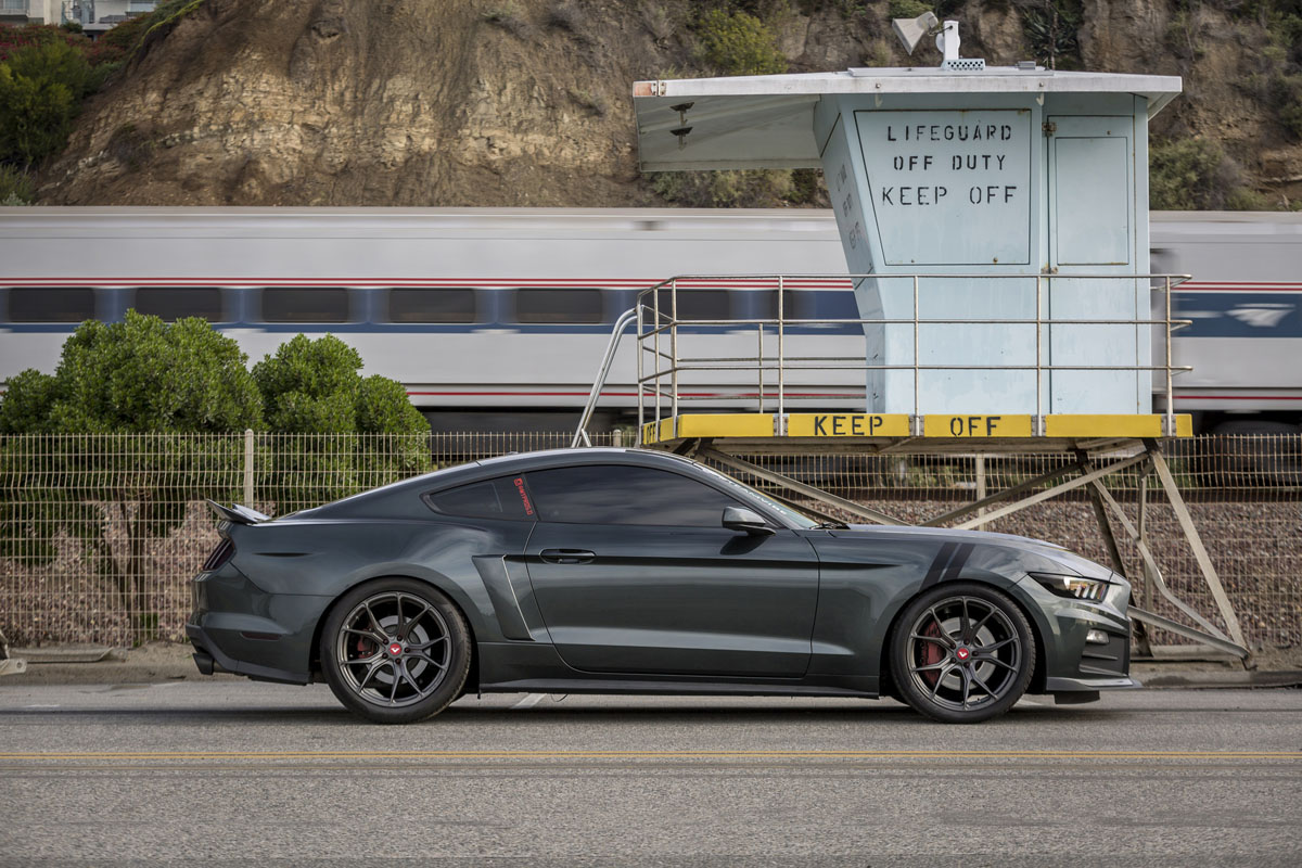 Roush Ford Mustang GT with Vorsteiner V-FF 103 Flow Forged Wheels