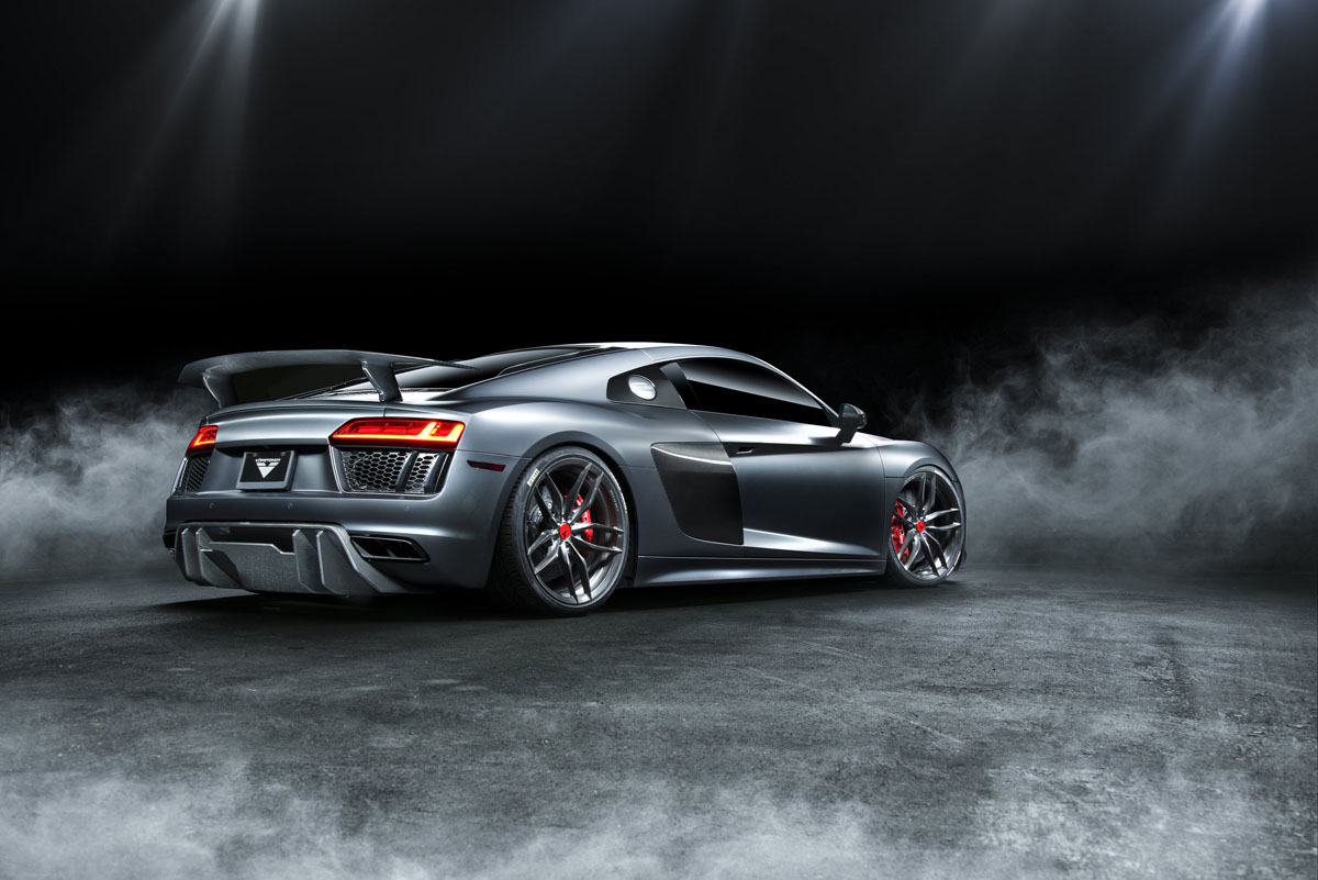 vorsteiner shows off their new audi r8 v gt aero program. Black Bedroom Furniture Sets. Home Design Ideas