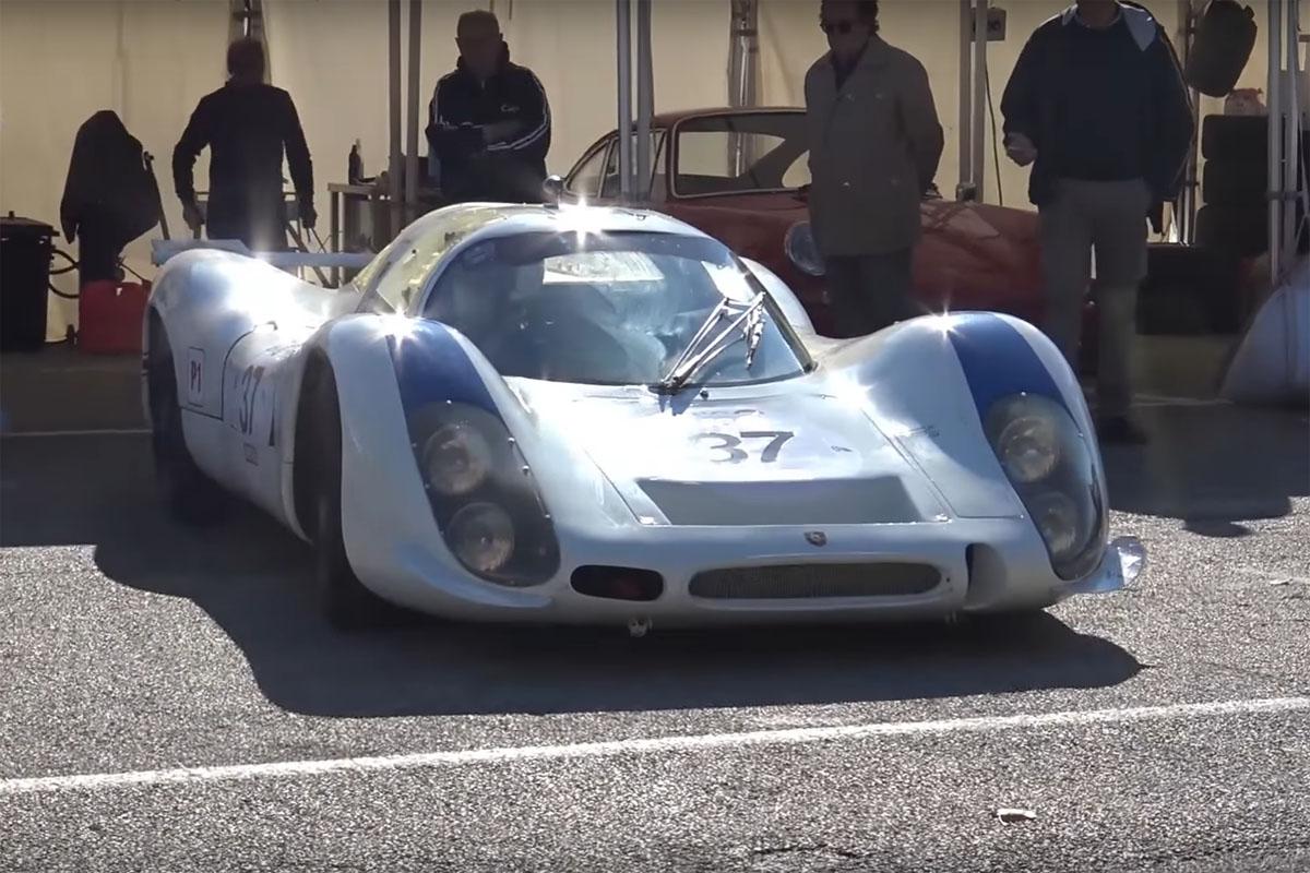 Porsche 908 Warm Up