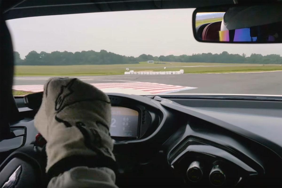 The Stig Aston Martin Vulcan