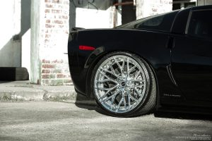 Callaway Corvette Z06 with Brixton Forged CM10 Duo Series Wheels