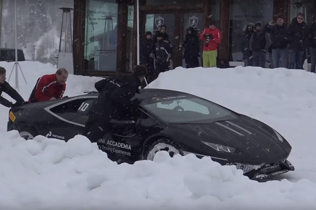 Lamborghini Winter Accademia
