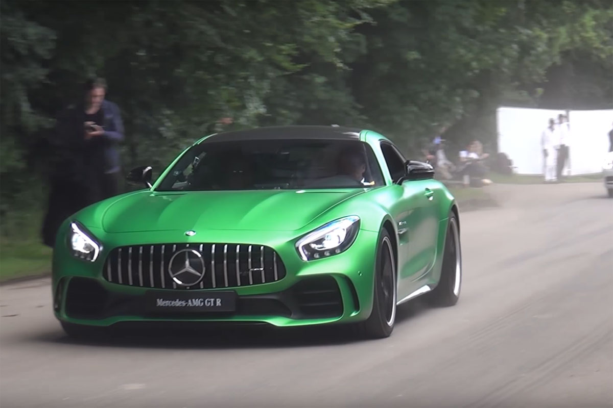 Mercedes-AMG GT R Hoonage