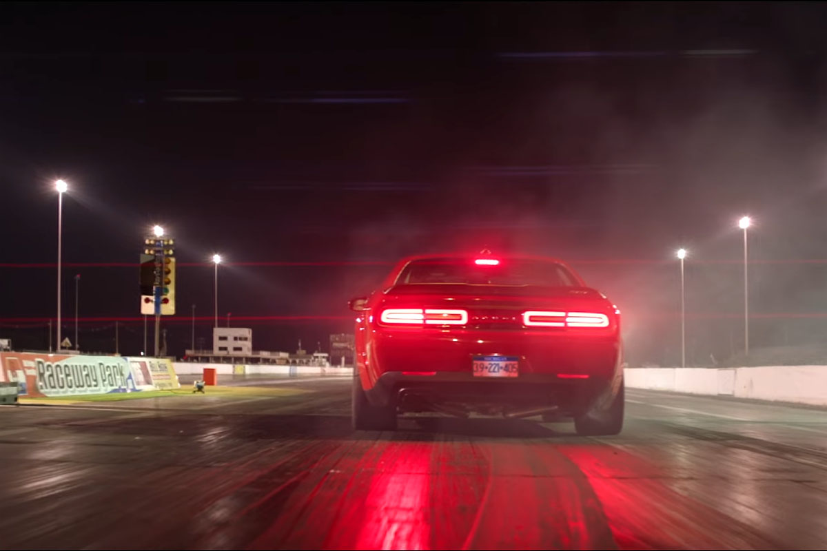 Dodge Challenger SRT Demon No Pills Preview