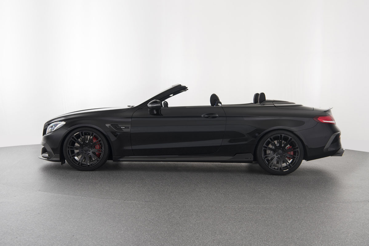 The brabus 650 cabrio is a 200 mph drop top amg monster for Drop top mercedes benz prices