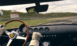 Ferrari 250 GTO in-car footage