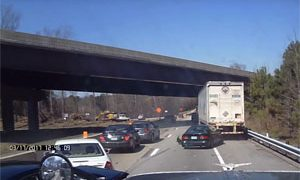 Friday FAIL: Multi-Car Crash after Tailgating