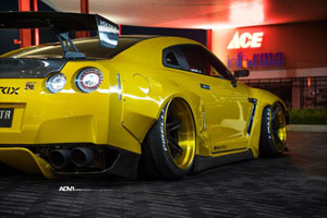 Rocket Bunny GT-R with ADV.1 Wheels