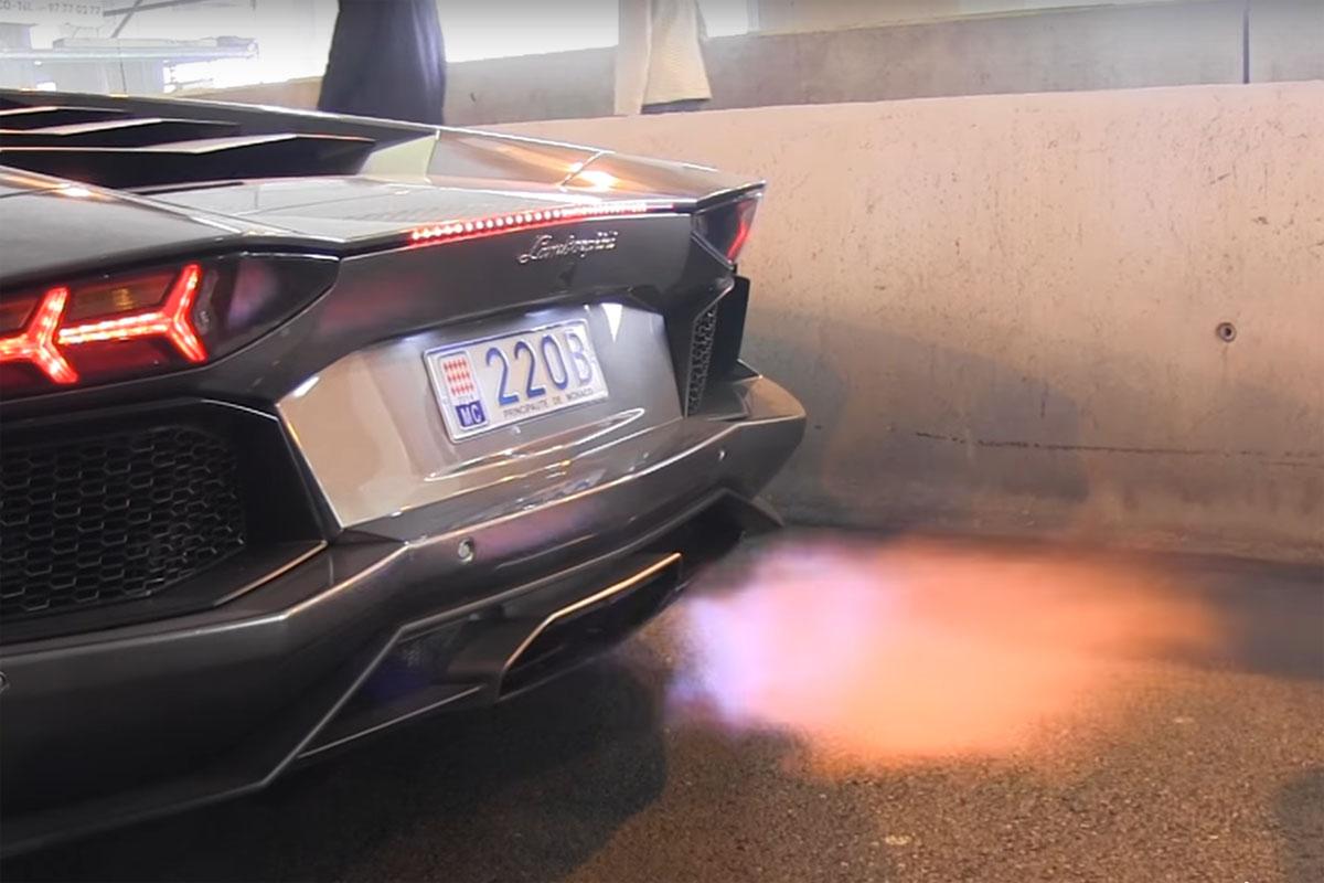 Exhaust Flames