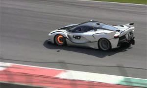 Ferrari FXX K Mugello Circuit