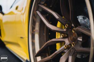 Widebody Ferrari 458 Italia with PUR LX23.3 Wheels by Premier Autowerkz
