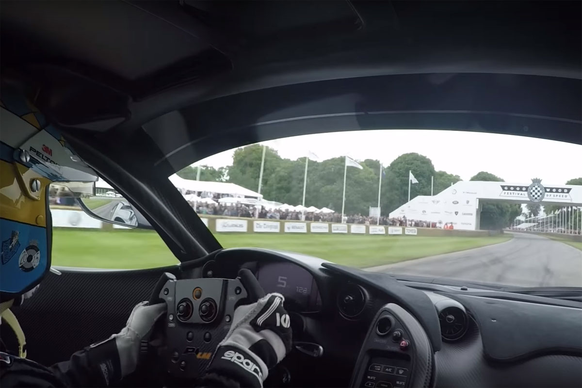 McLaren P1 LM Goodwood Festival of Speed
