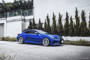 Lexus RC F Brixton Forged WR7 Targa Series Wheels by ReinART Design