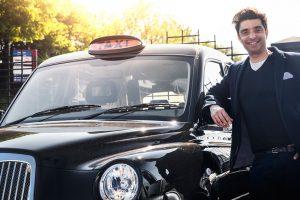 Afzal Kahn London Taxi Company Last of Line Edition Black Cab