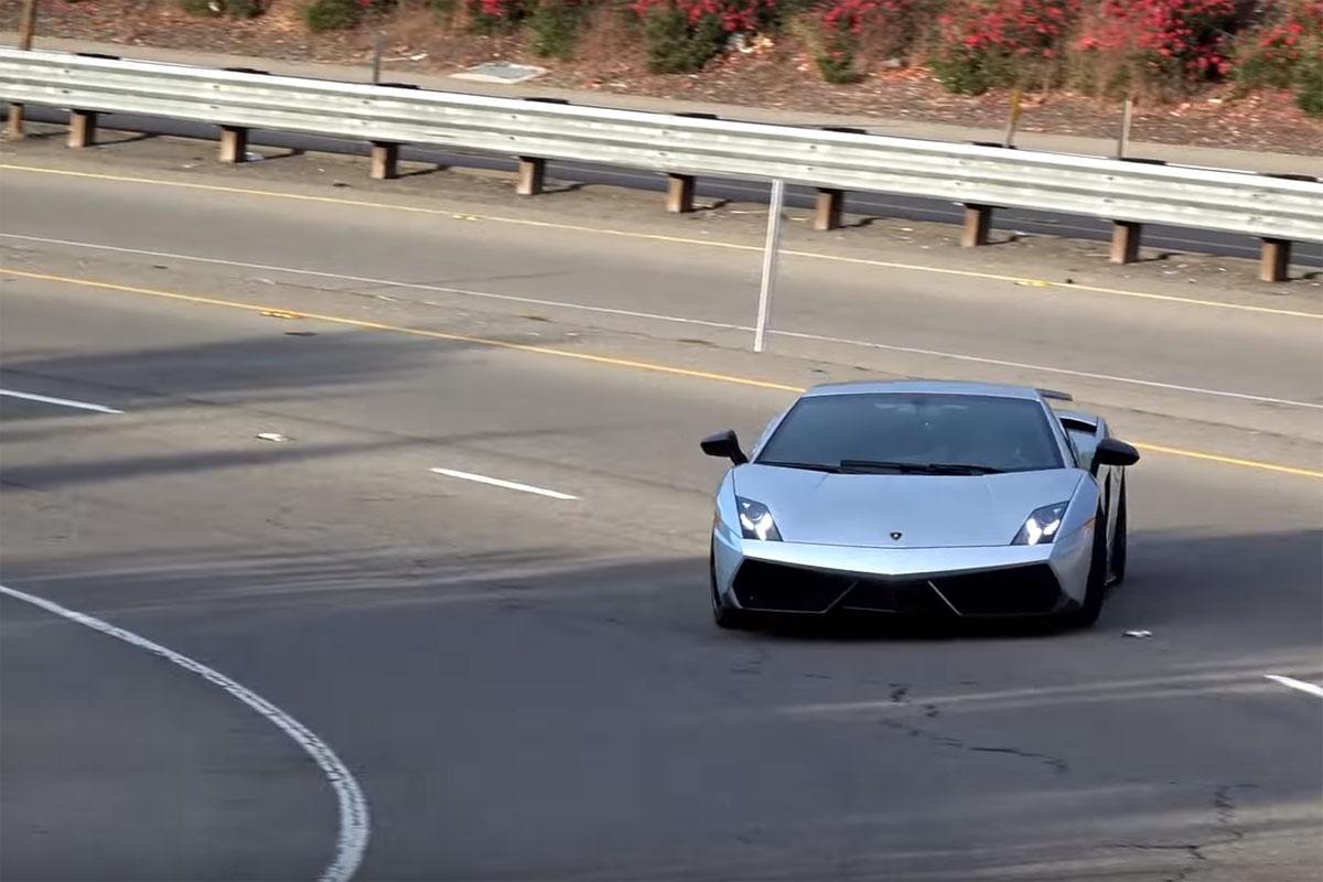 Lamborghini Gallardo LP 570-4 Superleggera Drift