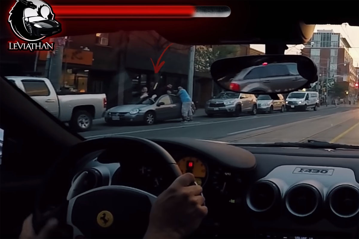 Lamborghini Mustang Reactions