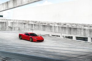 Ferrari 458 Italia with Brixton Forged M52 Ultrasport+ Wheels