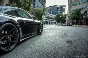 Porsche 911 Carrera GTS with Brixton Forged WR7 Ultrasport+ Wheels