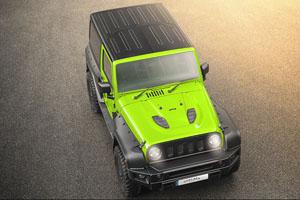 Jeep Wrangler Black Hawk Rubicon Chelsea Wide Track