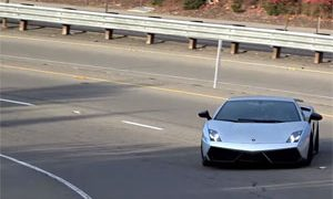 Lamborghini Gallardo LP 570-4 Superleggera Drift