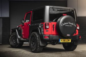 Roll On With The Chelsea Jeep Wrangler Black Hawk Wide Track