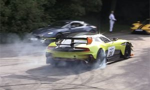 2017 Goodwood Festival of Speed Burnouts