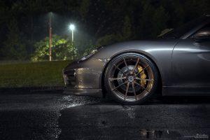 Porsche Cayman with Brixton Forged WR3 Ultrasport+ Wheels