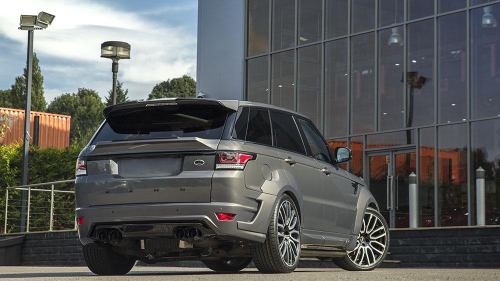 Project Kahn Range Rover Sport Autobiography Dynamic Pace Car