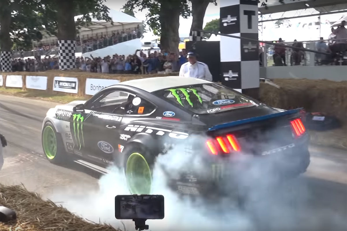 Goodwood Festival of Speed Starting line