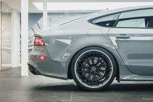 Nardo Grey Audi RS7 with Brixton Forged CM10 Targa Series Wheels