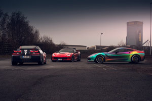 BBM Motorsport Corvettes