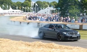 2017 Goodwood Festival of Speed Burnouts, Donuts, and Launches